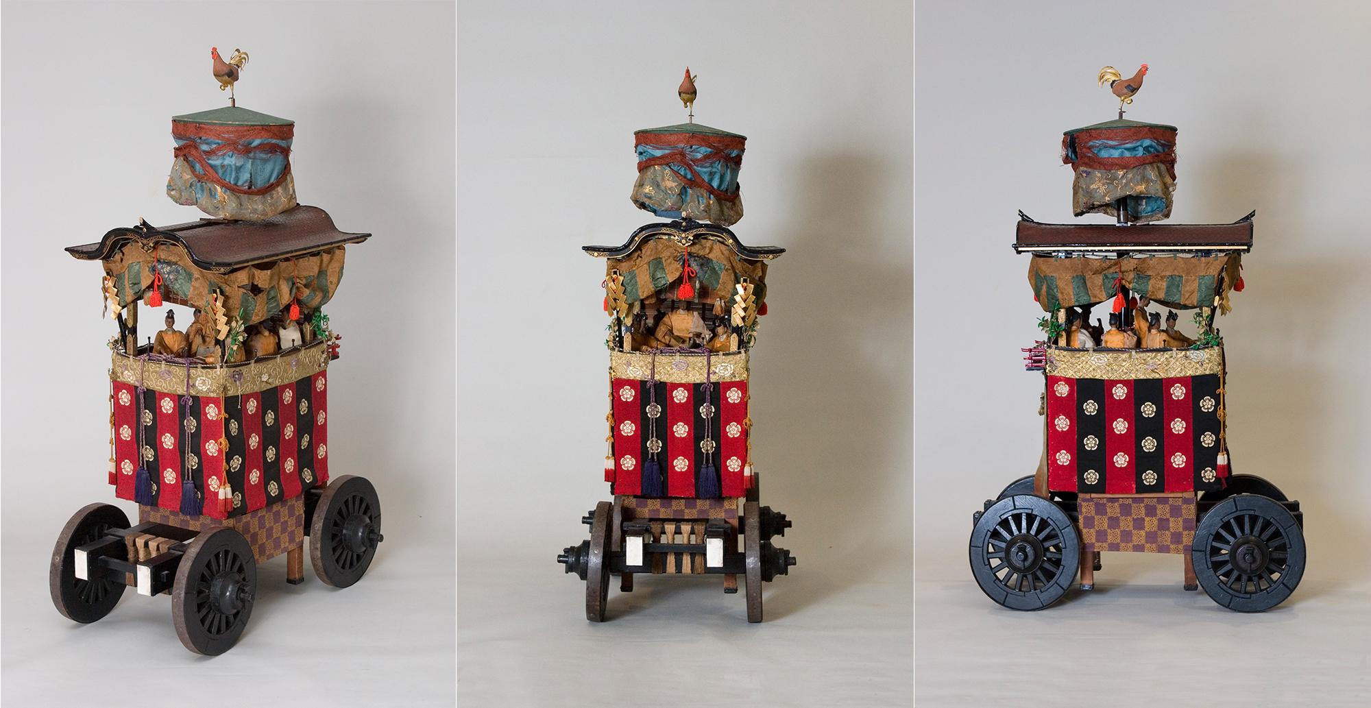 綾傘鉾模型